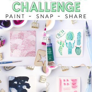 30 Day Watercolor Challenge - Fox + Hazel 3