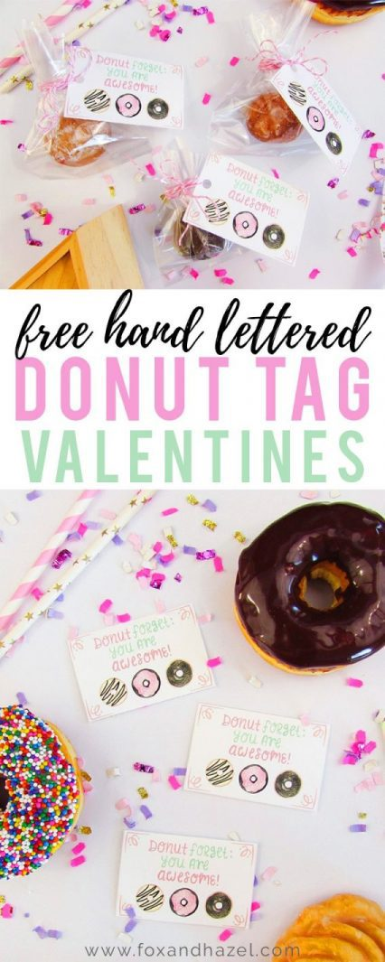 Free-Valentine-Day-Donut-Tags- Fox + Hazel