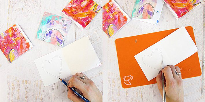 How To Create a Valentine Card - Fox + Hazel