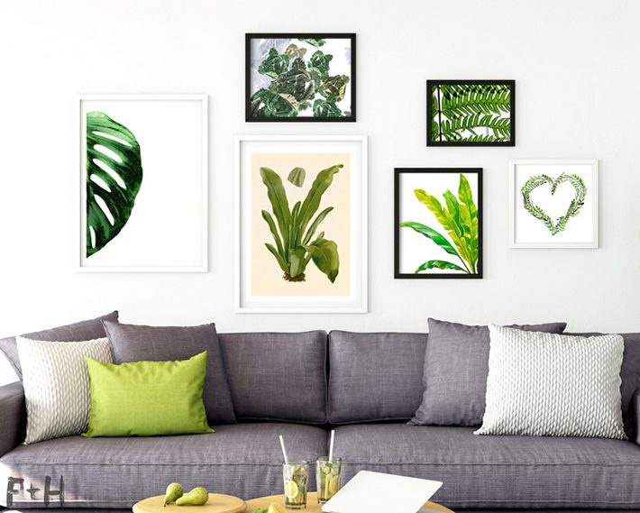 25 Free Tropical Leaf Prints - Fox + Hazel
