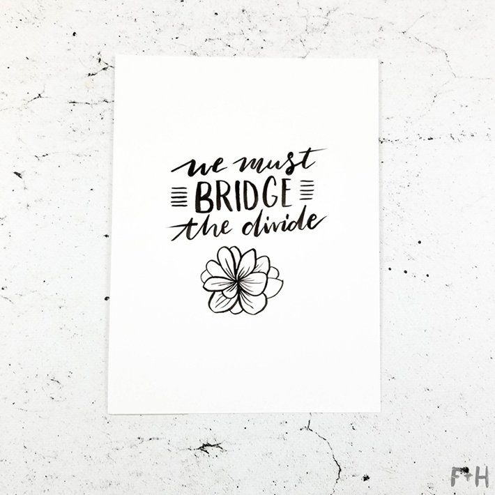 Inktober 2017-2-bridge-the-divide
