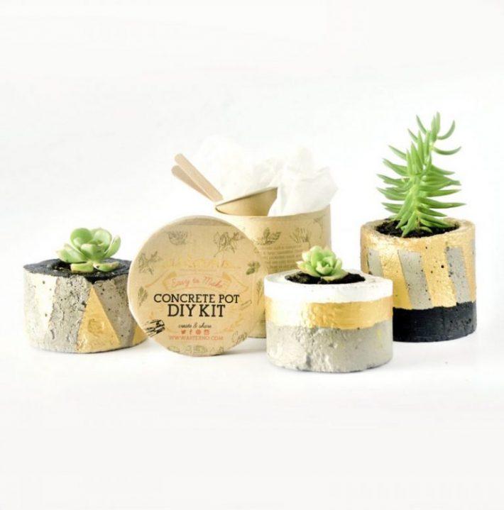 DIY-Kits-for-Creative-People---concrete-plant-pot