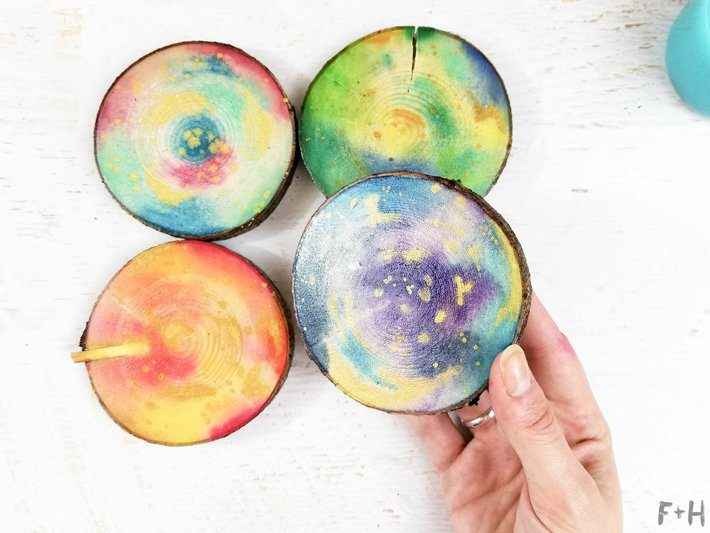 DIY-Watercolor-Wood-Slice-Coasters-78