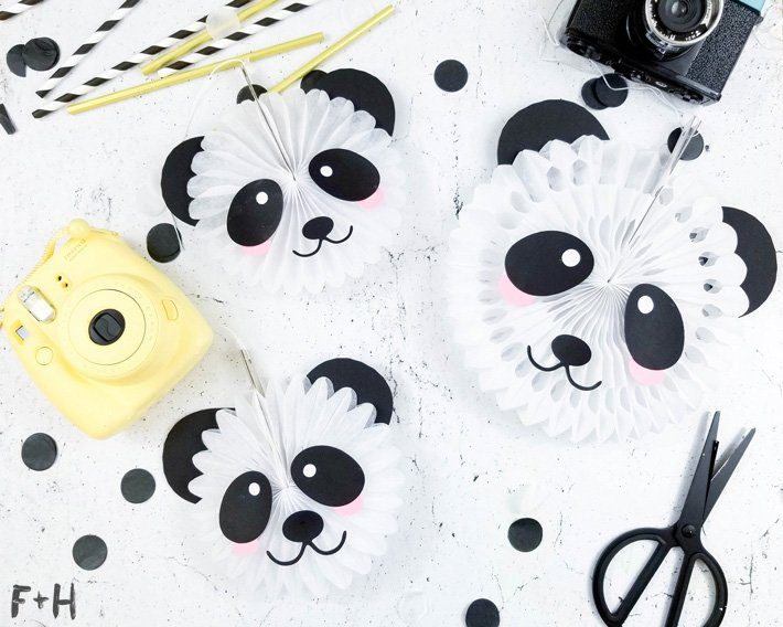Panda Bear Party Decor - Fox + Hazel