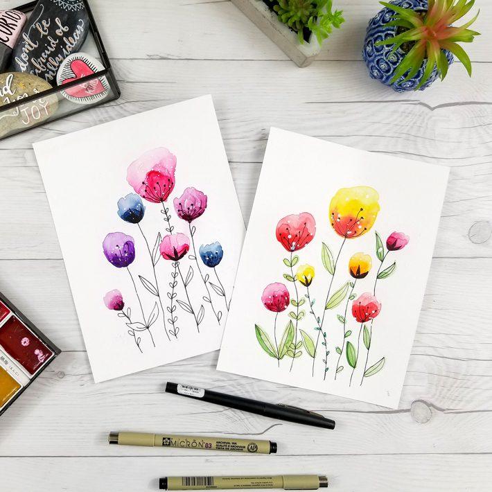Free watercolor birthday card printables fox hazel fox hazel free watercolor birthday card printables fox hazel bookmarktalkfo Gallery