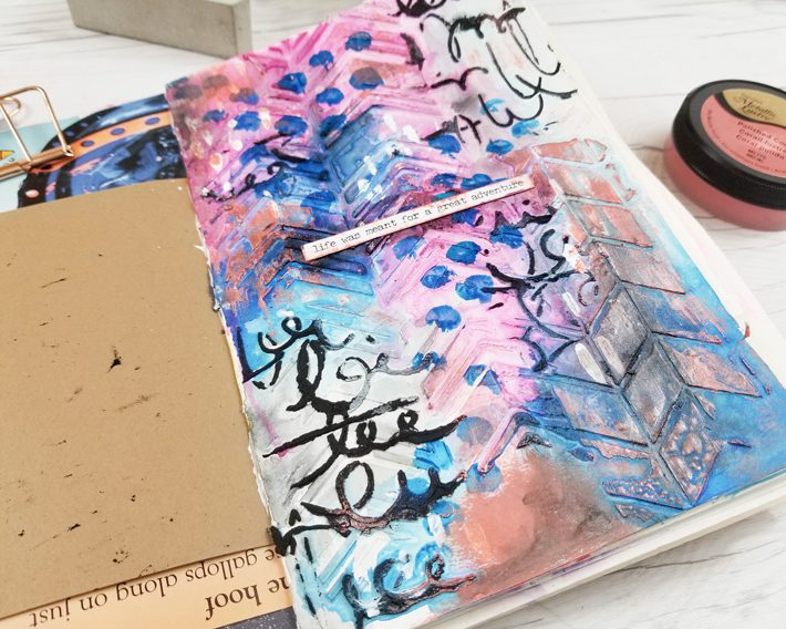 Step-by-Step Art Journal Techniques with DecoArt - Fox + Hazel