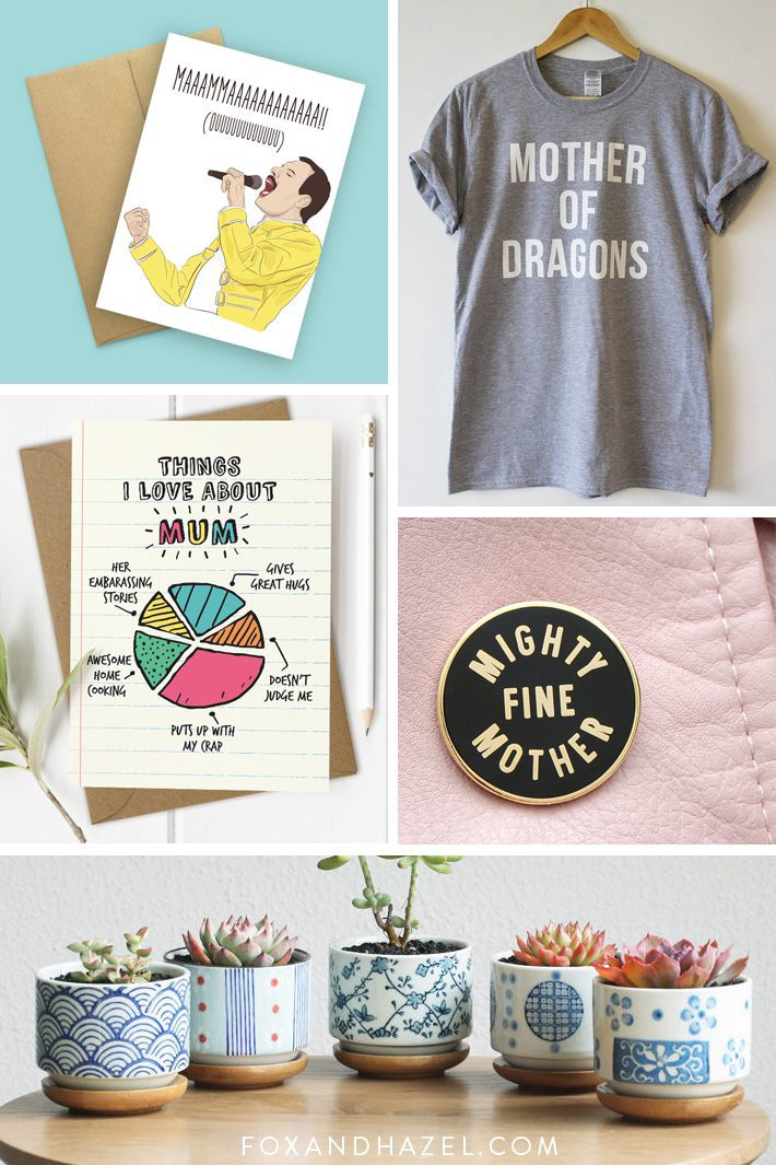 cool Mother's Day gift ideas gift guide etsy