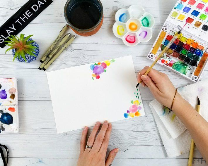 watercolor painting tutorial