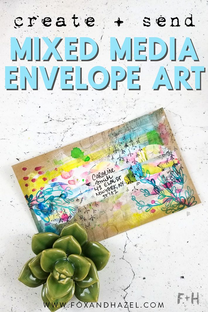 envelope art tutorial