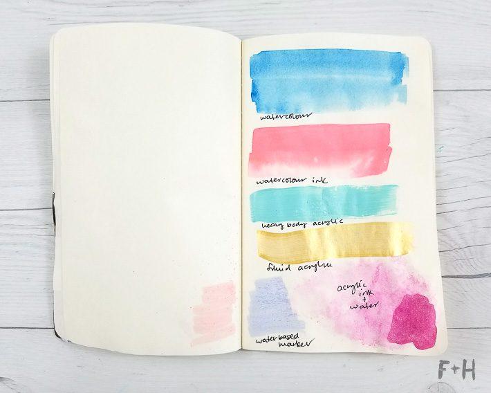 Best Art Journal That Dont Bleed
