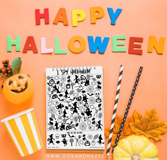 halloween i spy sheet